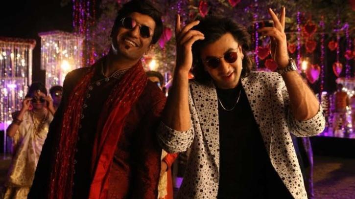 Ranbir Kapoor and Vicky Kaushal  in Sanju / Twitter