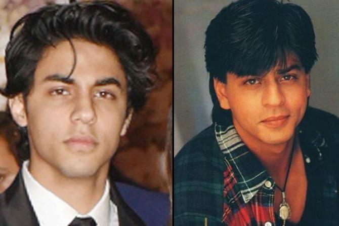 Aryan Khan and Shah Rukh Khan / Indiatimes