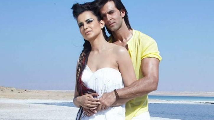 Hrithik Roshan and Kangana Ranaut / Krrish