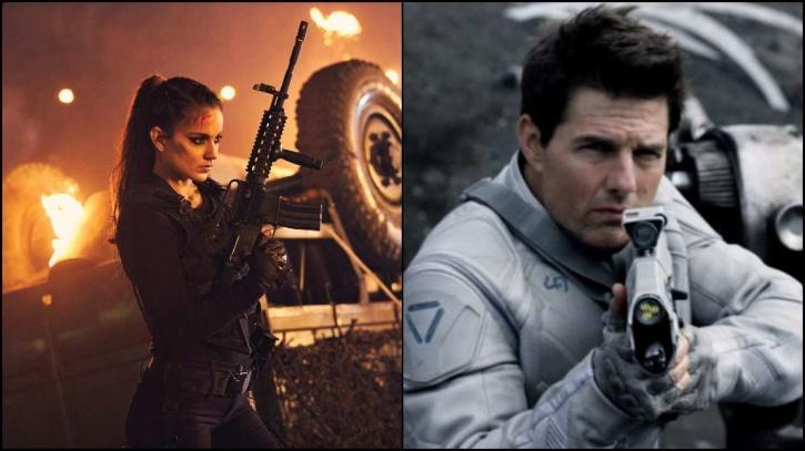 Kangana Ranaut and Tom Cruise / Indiatimes