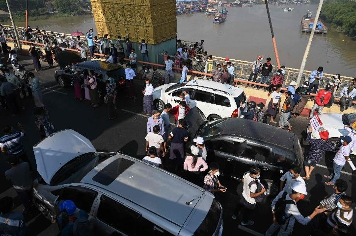 Broken Down Cars Protest