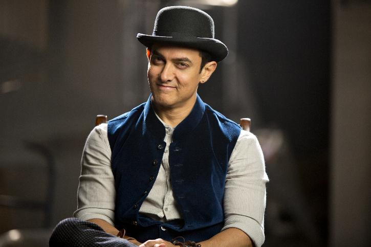 Aamir Khan in Dhoom 3 / Twitter