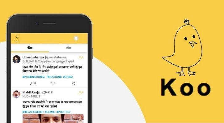 Made in India Twitter clone - Koo app