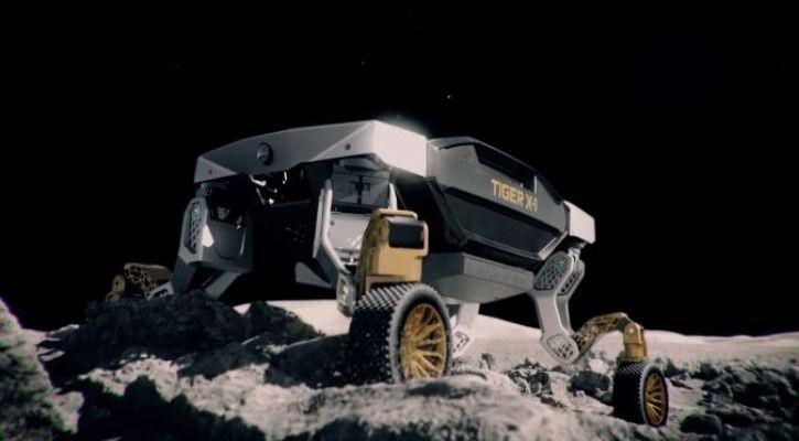 TIGER x-1 hyundai robot car