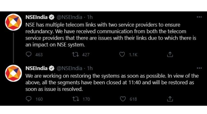 nse server down