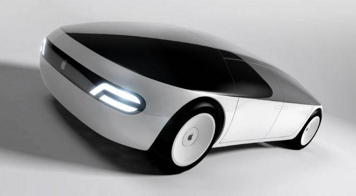 apple first self-driving car prototype design
