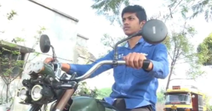 Prathamesha Sutara, a class 10 student from Nippani taluk of Belgaum district in Karnataka created an electric bike all by himself during the pandemic.