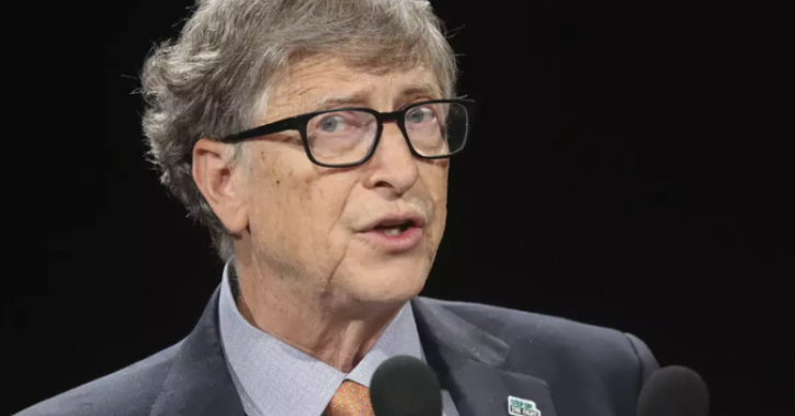 On being probed by Muller about next potential catastrophes facing the world, Gates flagged 'climate change' and 'bio terrorism' as future threats.