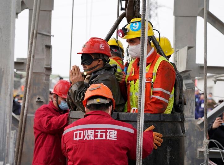 China Gold Mine rescue