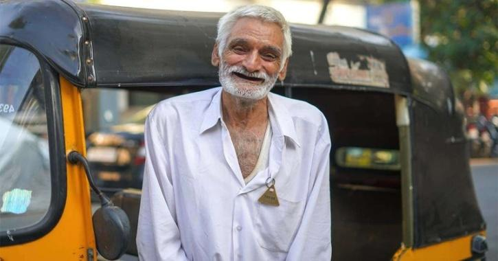 Through a crowdfunding initiative, Rs 24 lakh have now been collected and the cheque handed over to the auto driver.