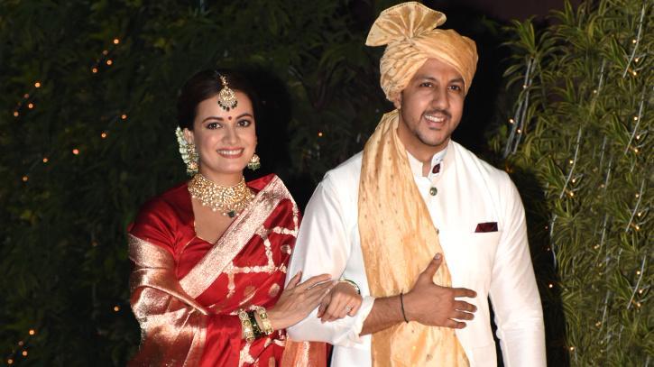 Dia Mirza and Vaibhav Rekhi / Viral Bhayani