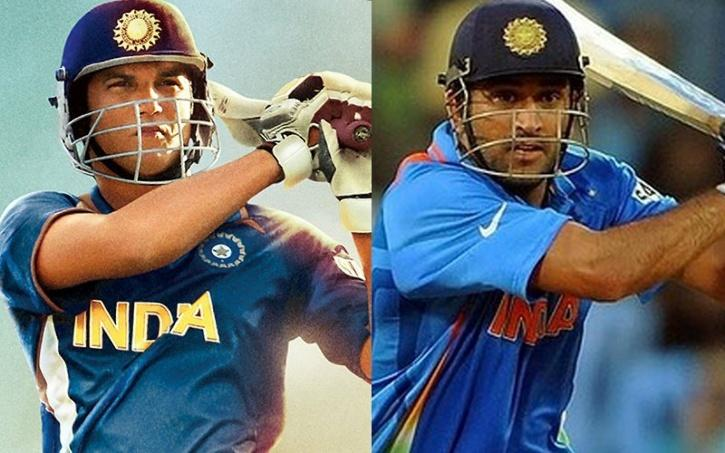 Sushant Singh Rajput and MS Dhoni / Indiatimes