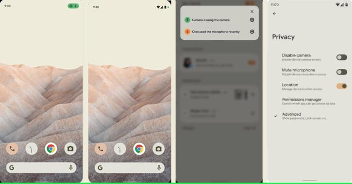 Android 12 new privacy features