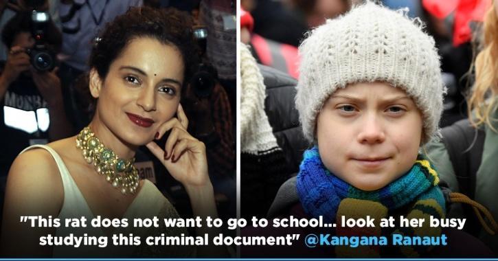 Kangana Ranaut Calls Greta Thunberg