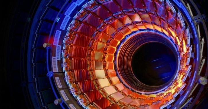 fifth dimension lhc experiment