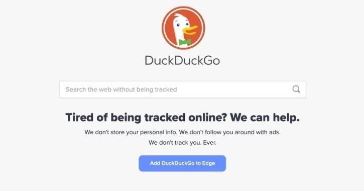 duckduckgo privacy search engine