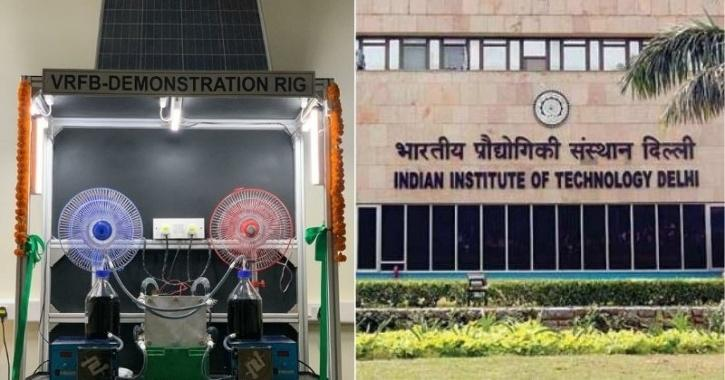 IIT Delhi VRFB charging technology