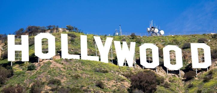 Hollywod sign