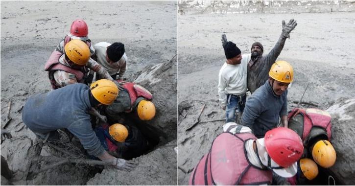 ITBP rescue uttarakhand floods