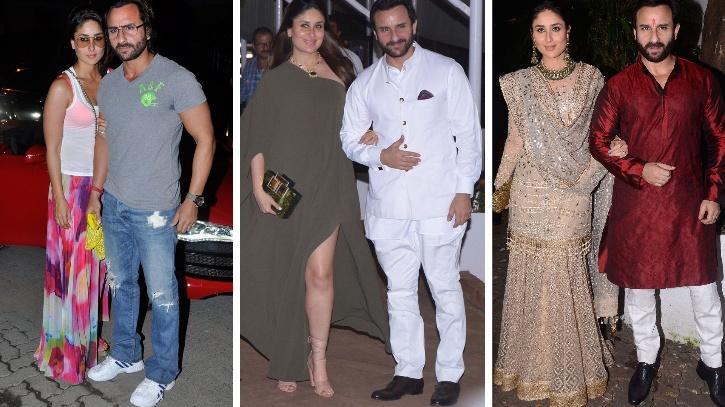 Kareena Kapoor Khan and Saif Ali Khan across the years / Indiatimes