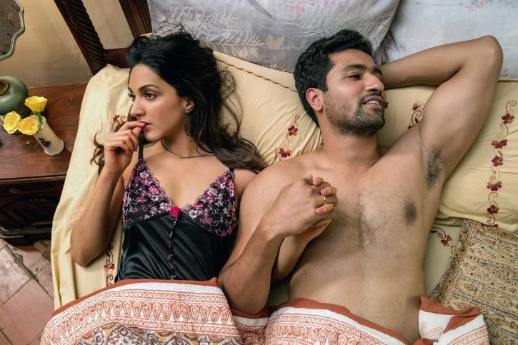 Kiara Advani and Vicky Kaushal in Lust Stories / Netflix India