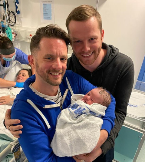 The Manchester-based hopeful parents took out a £36,000 loan to fund three rounds of IVF using two anonymous egg donors