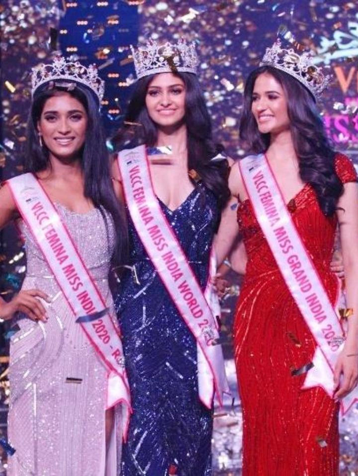 Manasa Varanasi Miss India 2020 Winner