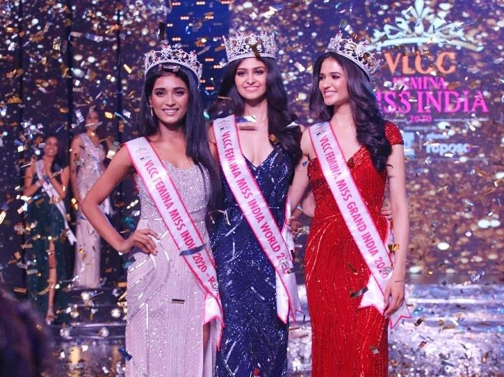 Manasa Varanasi wins VLCC Femina Miss India World 2020.