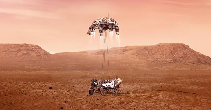 NASA Mars Mission Perseverance Rover
