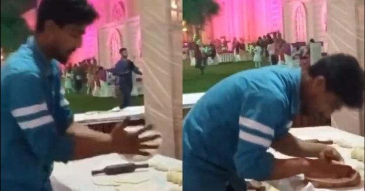 The man, seen in the video, was arrested after netizens demanded action against him.