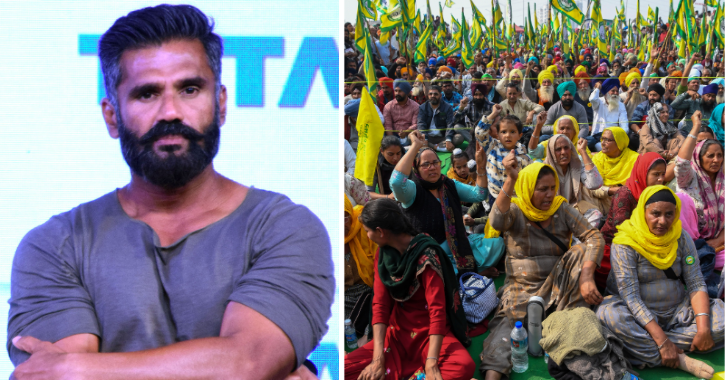 Reacting to the backlash he received, Suniel Shetty in his defense said that he is a farmer himself.