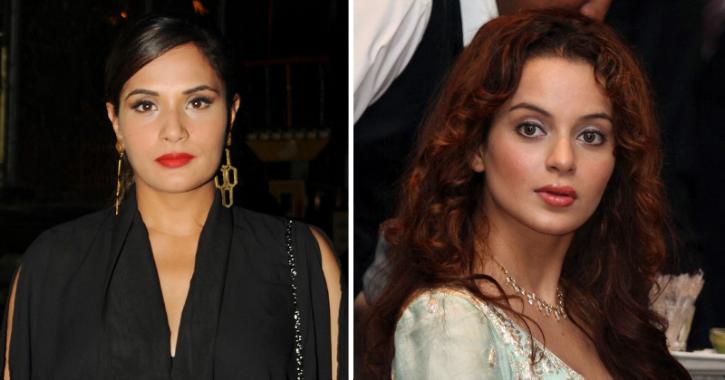 Richa Chadha Shares Narcissism Checklist After Kangana Compares Herself To Hollywood Biggies