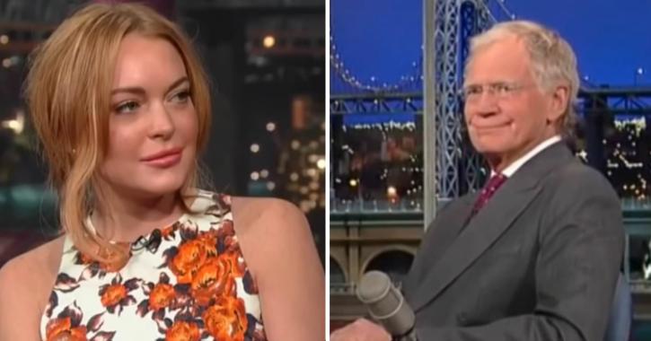 David Letterman Faces Flak Over 2013 Lindsay Lohan Interview