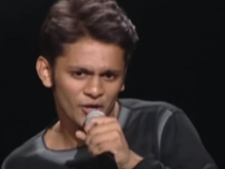 Rahul Vaidya in Indian Idol 1.