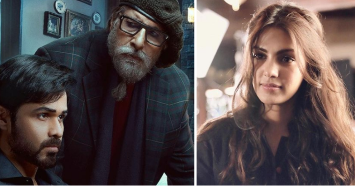 The movie made headlines after the team got accused of actor Rhea Chakraborty