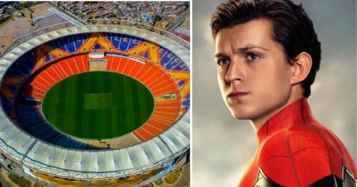 Actor Tom Holland trolled over Modi stadium tweet.