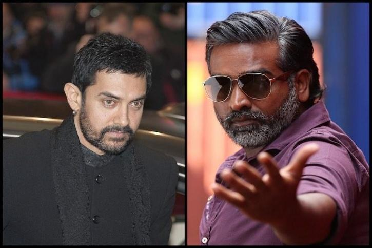 Vijay Sethupathi  and Aamir Khan / Indiatimes