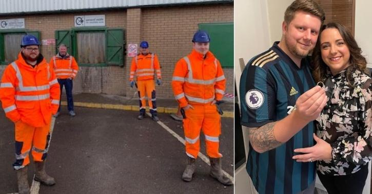 A couple from Cullercoats have praised SUEZ UK staff at the HWRC in North Shields