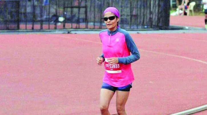 Preeti Lala in a previous marathon
