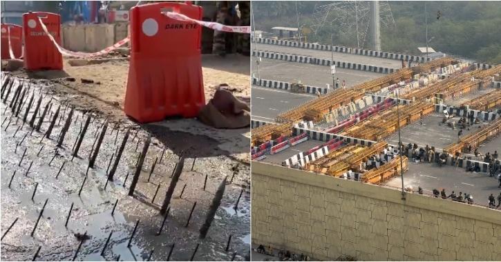 farmers protests delhi borders