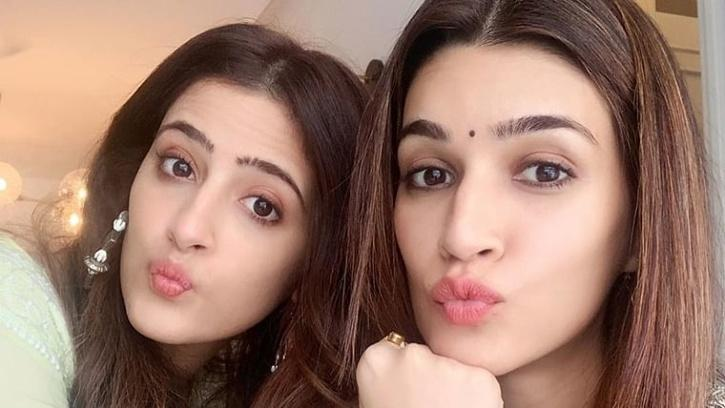 Kriti Sanon and Nupur Sanon / Kriti Sanon Instagram