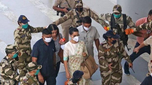 Kangana Ranaut with Y grade security / ANI