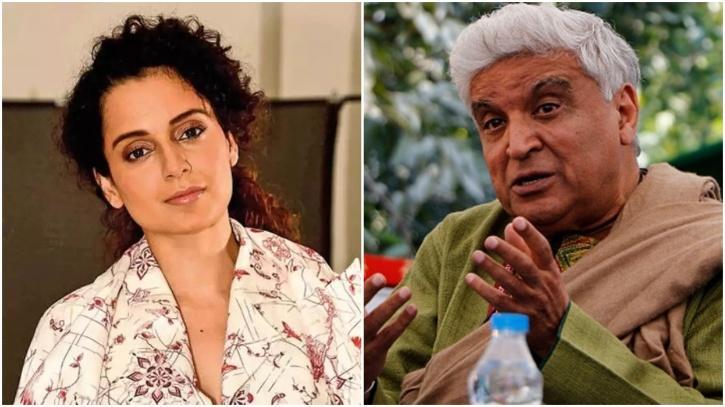Kangana Ranaut and Javed Akhtar / Indiatimes