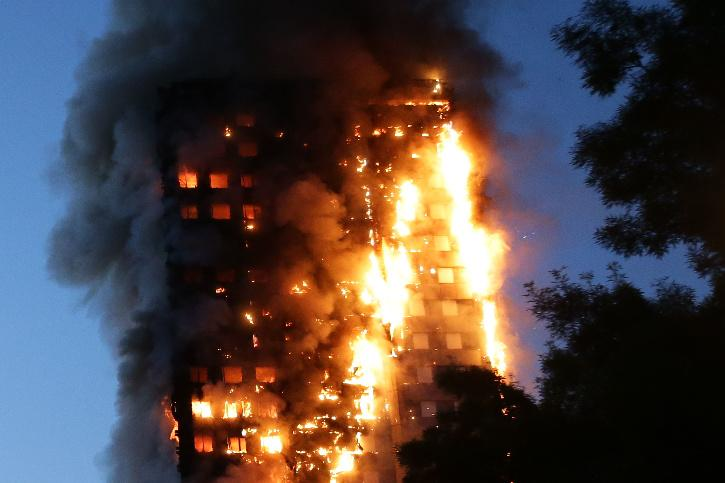 Grenfell-style cladding