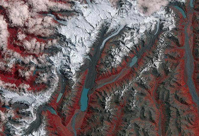 Southern Alps, New Zealand (12 January 1990 - 29 January 2017)