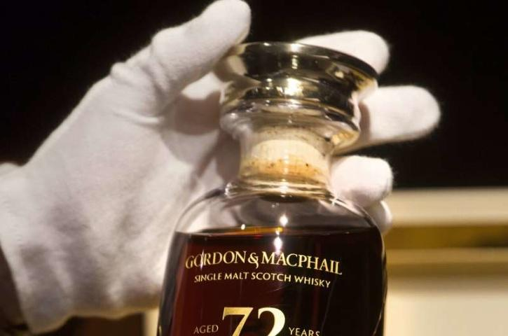 72-year-old bottle of Glen Grant single malt whisky