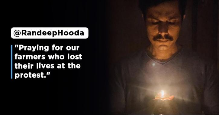 Randeep Hooda Prays For Farmers Who Lost Their Lives, Janhvi Kapoor Hopes For Speedy Resolution