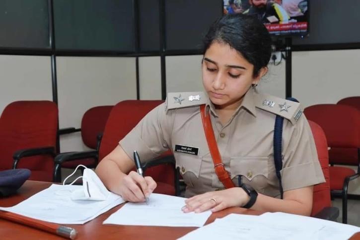 Aishwarya Dongre IPS