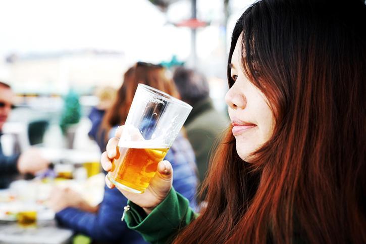 Women drinker