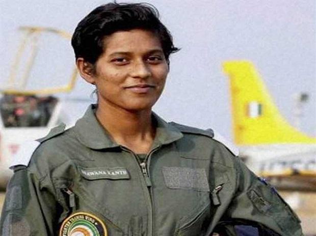 Flight lieutenant Bhawana Kanth